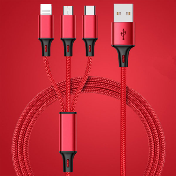 One drag Three 3 in 1 Charge Cable