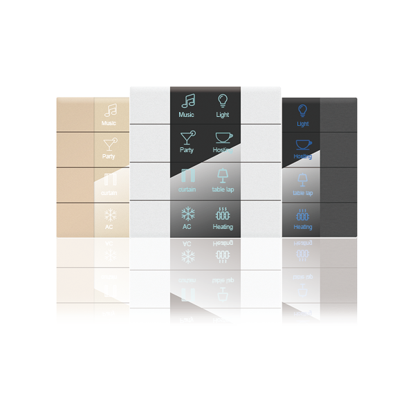 SM-481 8 Buttons Smart Panel (With label)