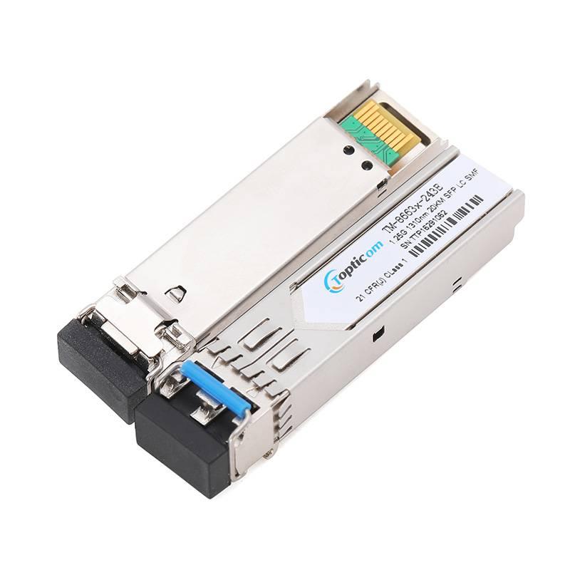 1.25Gb/s SFP 1310nm 20km DDM Duplex LC optical transceiver