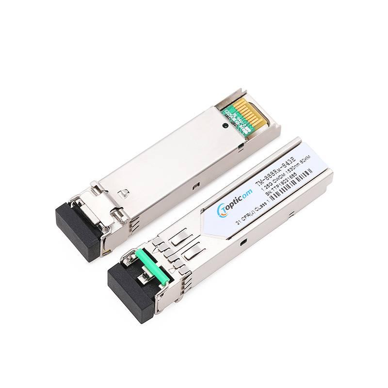 1.25Gb/s SFP CWDM 80km DDM Duplex LC optical transceiver