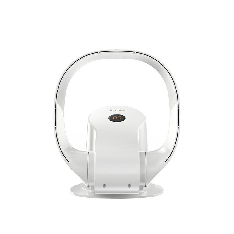 Smart Foldable Desk Fan/Wall Fan, Wifi Fan With Touch-Sensitive Control And Digital Display, Bladeless Fan Factory