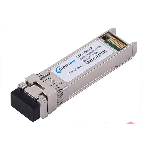 10Gb/s SFP+ 1550nm 40km DDM EML LC Duplex optical transceiver
