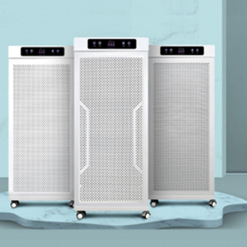Large Area Use Air Sterilizing purifier OEM, 5 Stage Air Filtration System Machine Factory