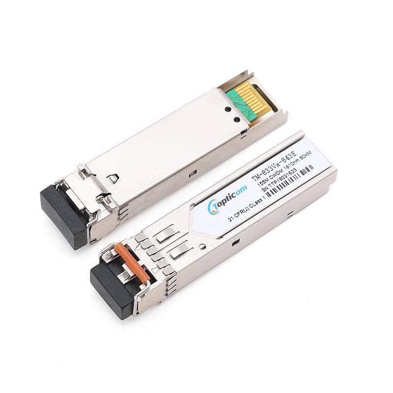 155Mb/s SFP CWDM 80km DDM Duplex LC optical transceiver