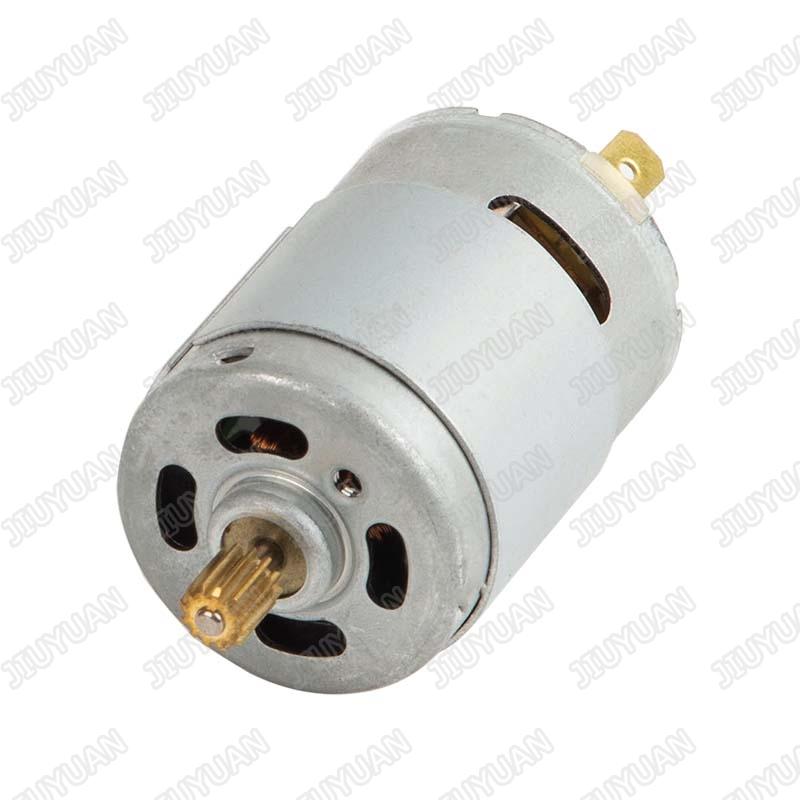 12V/24V 775 brushed DC motor for automatic sanitizer equipment/water pump