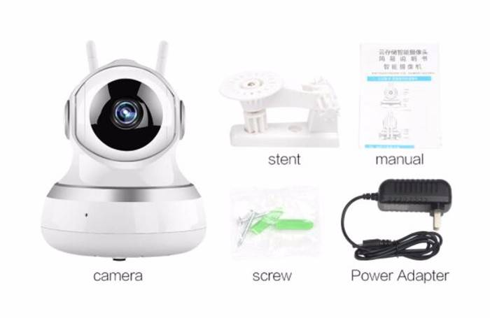 Indoor wireless cloud ip camera with SDK