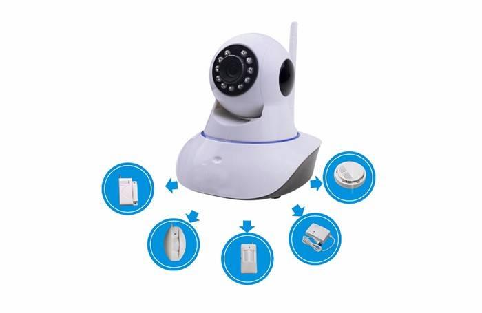 WiFi PT IP Camera smart home ODM