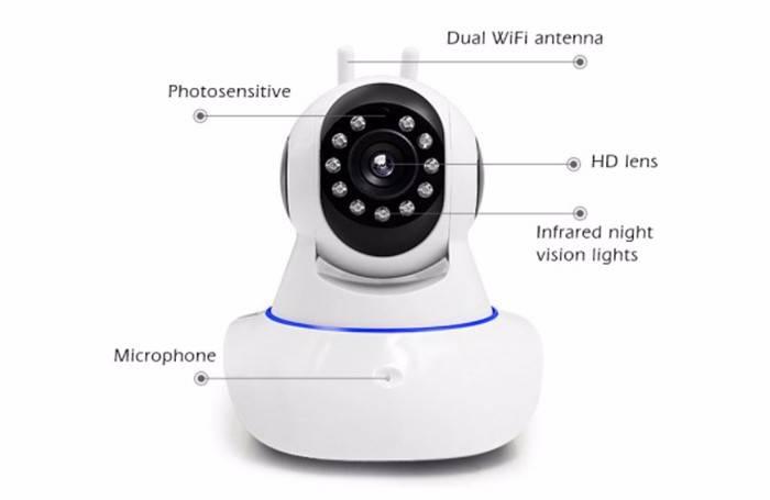 wifi Ip Camera alarm Kit OEM