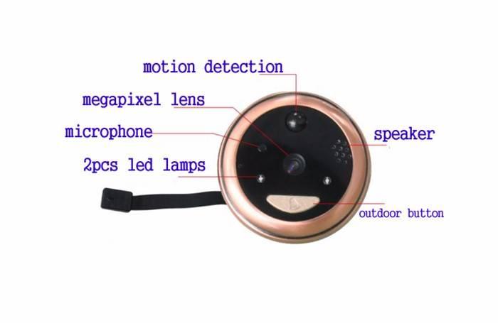wifi Video Doorbell camera OEM