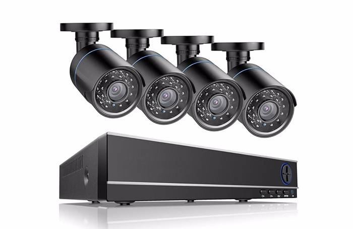 2MP AHD Camera dvr cctv system