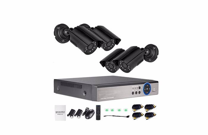 4ch AHD dvr camera system security OEM Featured Image