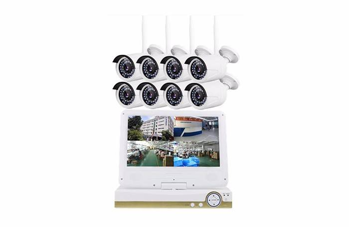 8ch Wireless Nvr Kit With Monitor