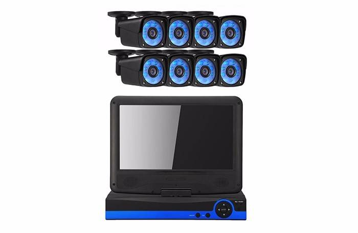 8ch AHD DVR KIT WITH MONITOR