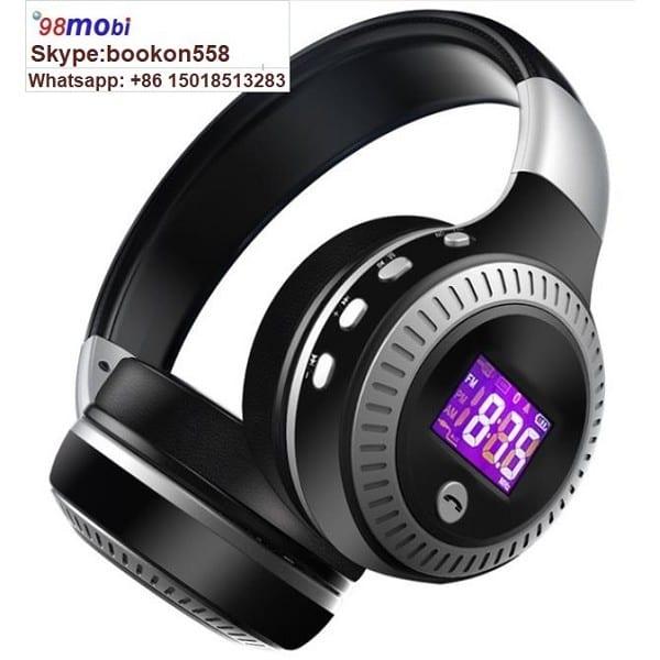 Smart Phone Wireless Bluetooth Headphone Stereo Bass Earphone with Microphone