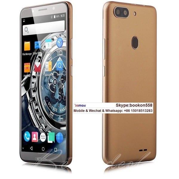 "Unlocked 6"" Cellphone Quad Core GSM WCDMA 3G Smart Phone"