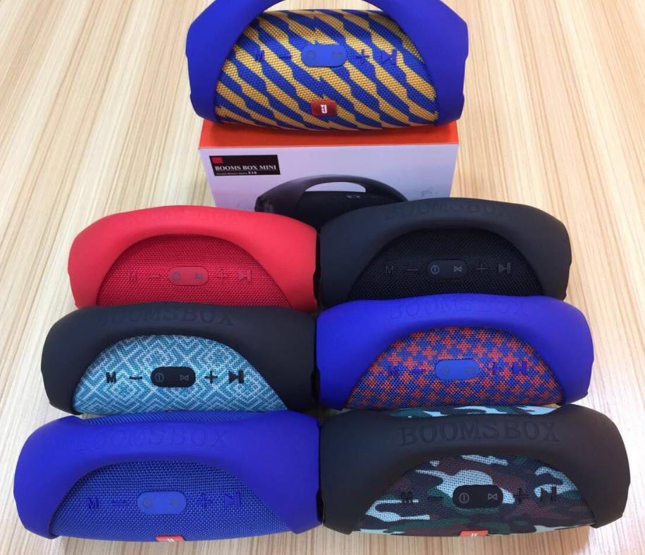 Portable Wireless Speaker Boombox Drums Stereo Speaker for Smart Phone