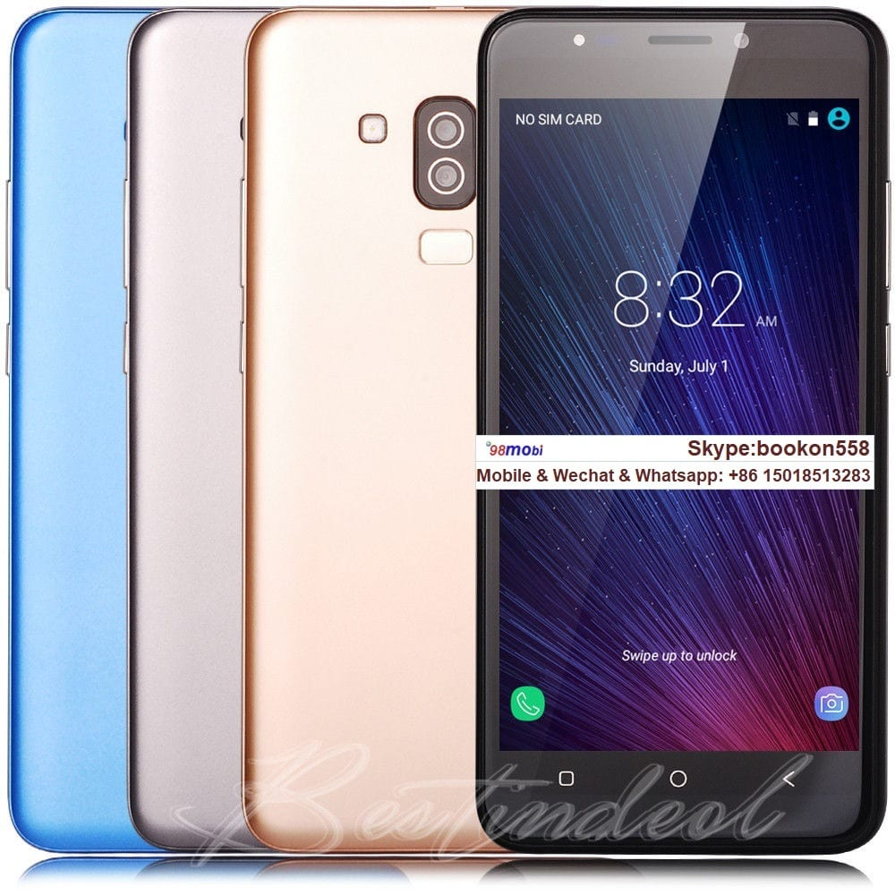 """5.5"""" Android7.0 Dual SIM Smartphone GSM Unlocked Smart Phone Moviles"""