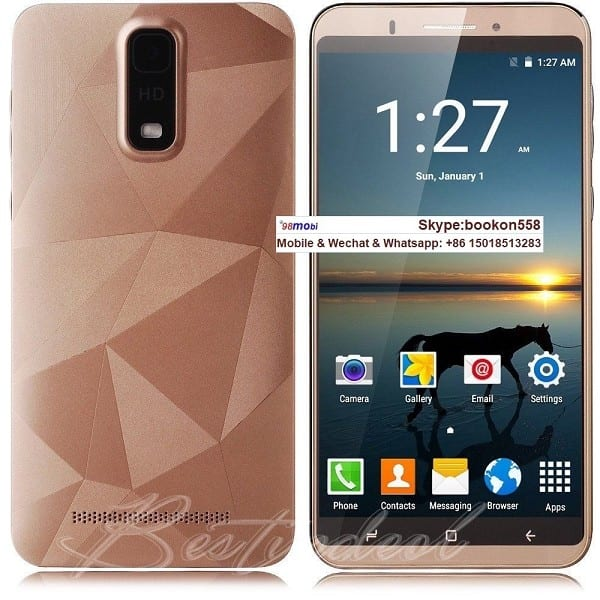 """Unlocked 6.0"""" Android 6.1 Dual SIM 3G Smart Phone Moviles"""