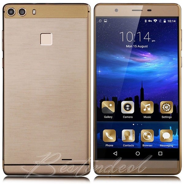 "OEM Cellphone 3G WCDMA 6.0"" Telefono Movil Smart Phone P9+"