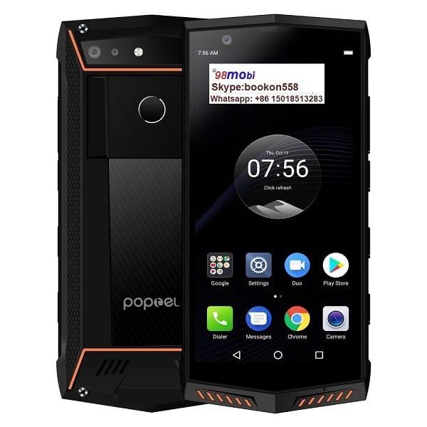 "Poptel P60 Rugged 4G Cellphone IP68 Waterproof 5.7"" Smart Phone"