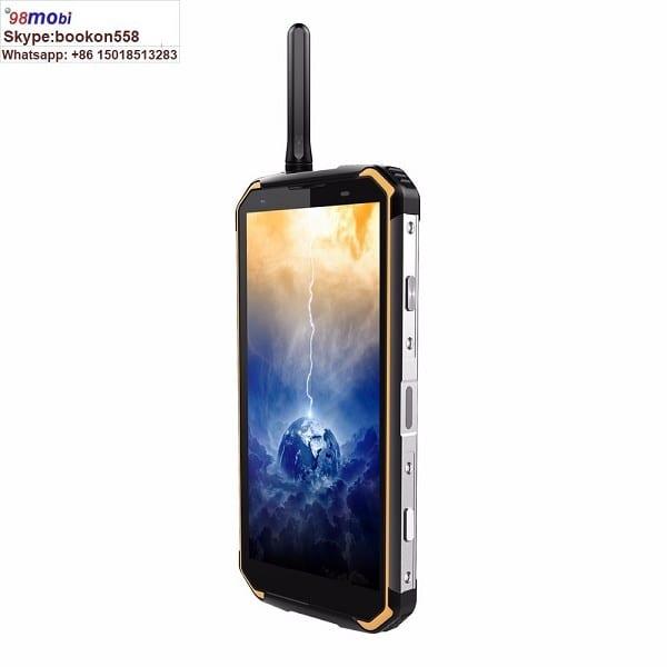 """BV9500 PRO 5.7"""" IP68 IP69K Waterproof Smart Phone Wireless Charge"""