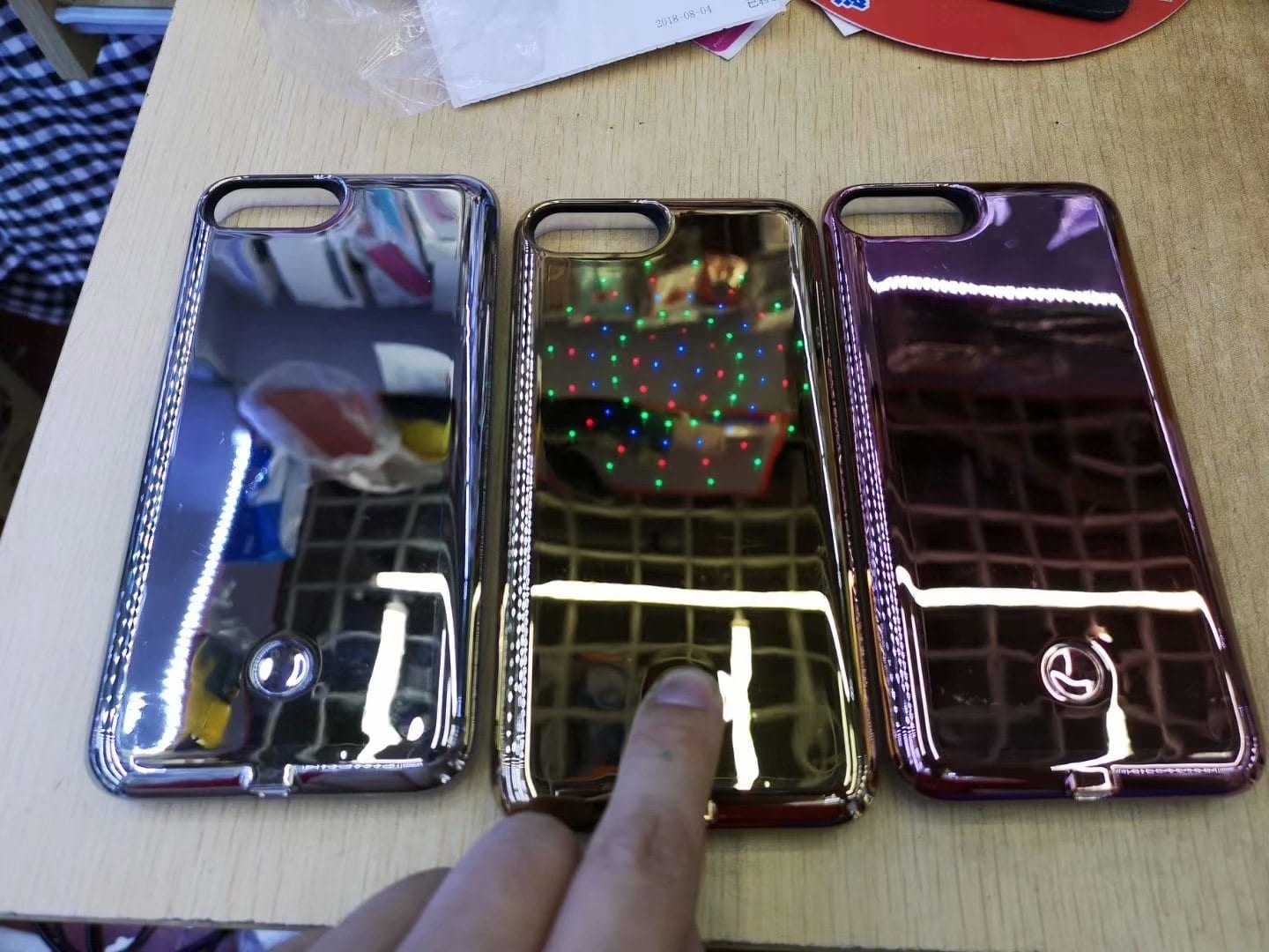 LED Phone Case for iPhone 6/7/8 and iPhone 6/7/8 Plus