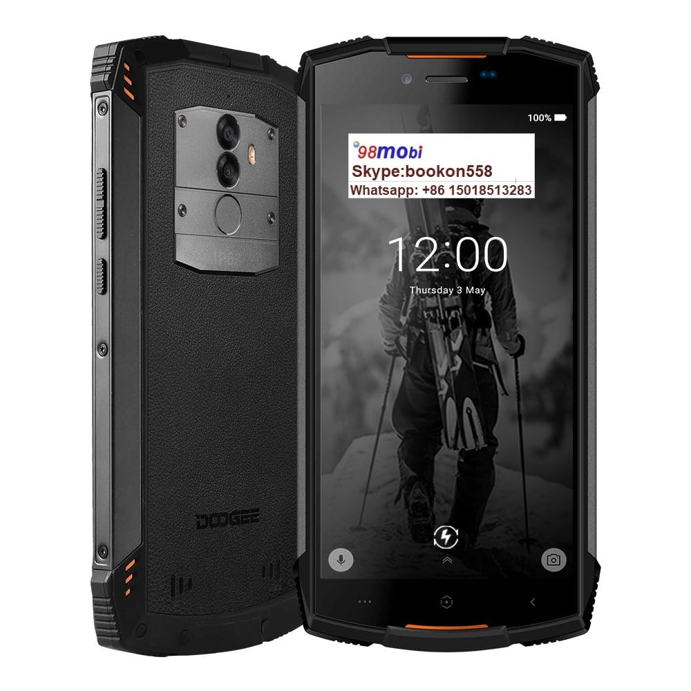 Real IP68 Doogee S55 Octa Core Android 8.0 Smart Phone