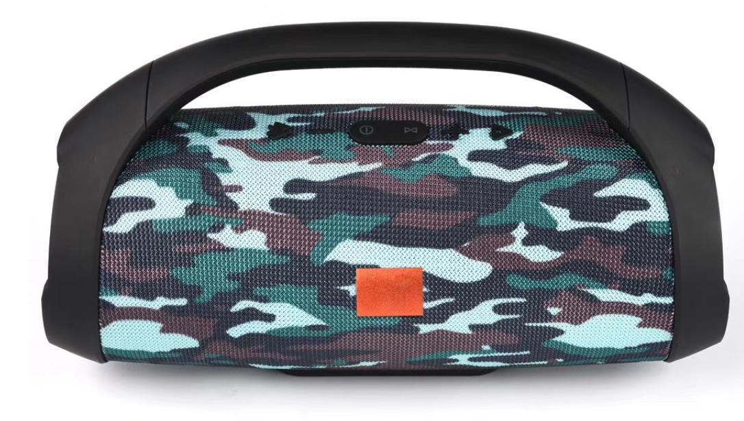 Music Shock Wave Bluetooth HiFi Portable Speaker 6000mAh Battery Speaker