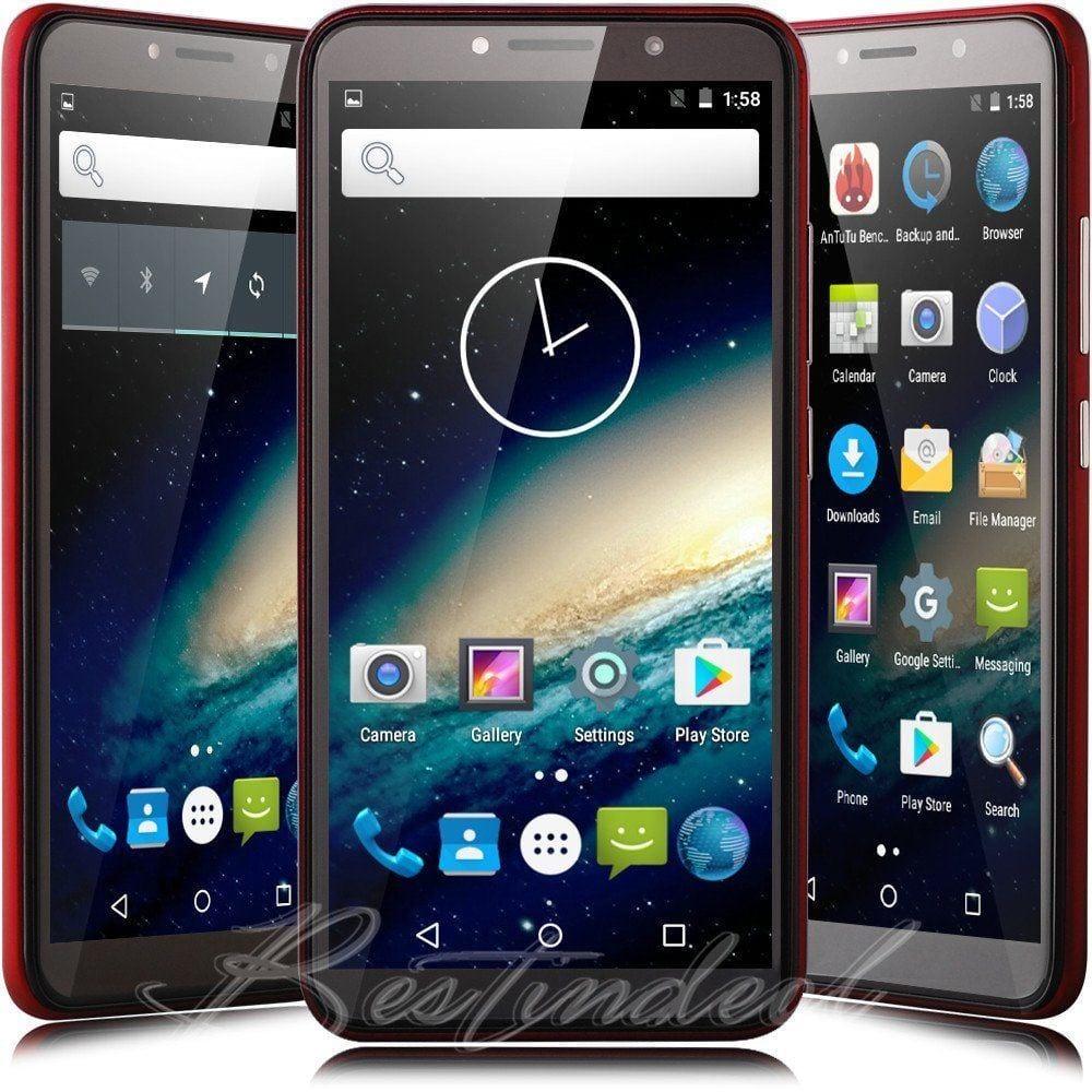 "Xbo V7 5.5"" 3G WCDMA Smart Phone Celulares Movil Cellphone"