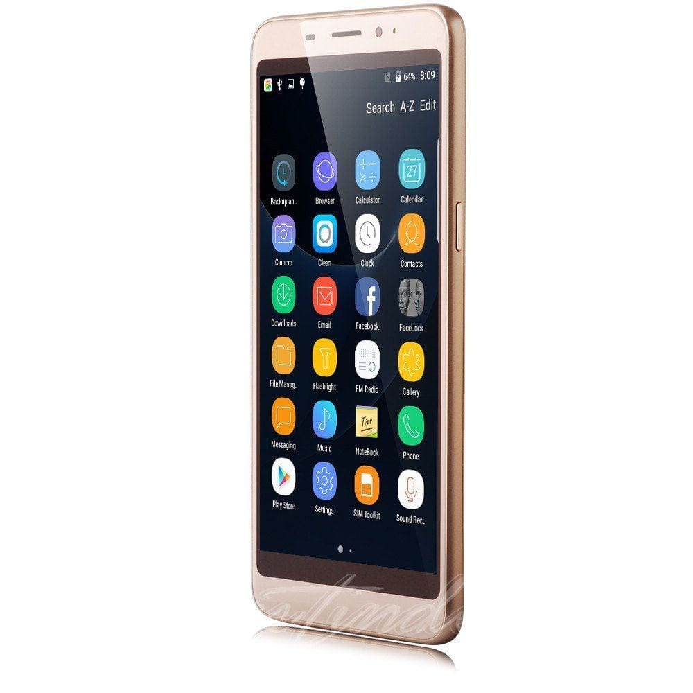 """5.5"""" Unlocked 3G Cell Phone Android 7.0 Smart Phone Moviles"""