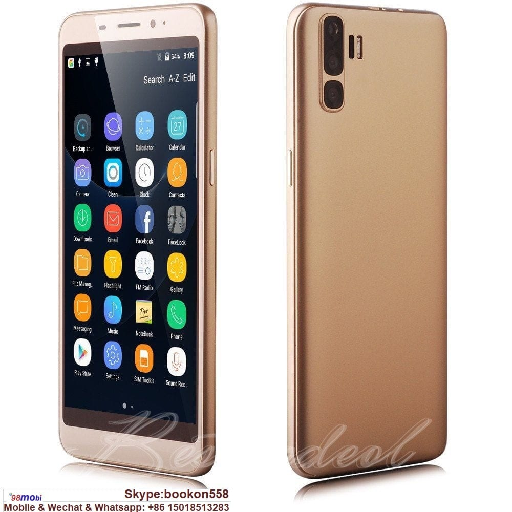 """5.5"""" Unlocked 3G Cell Phone Android 7.0 Smart Phone Moviles Featured Image"""
