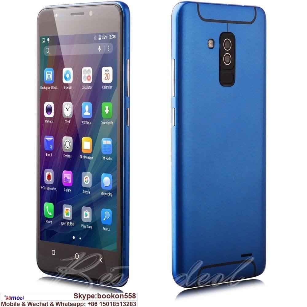 "5.5"" Quad Core Smart Phone Xbo A6+ Moviles Celulares Smartphone"
