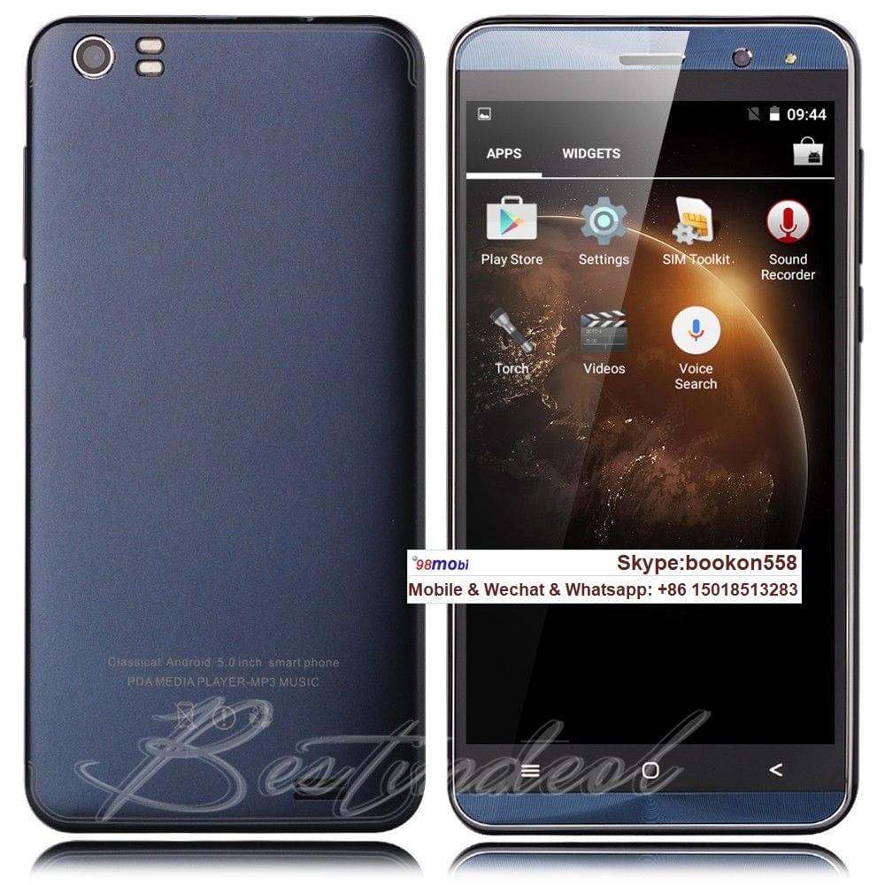 "Xbo N802 5.0"" 1GB/8GB Smart Phone Telefonia Movil Celulares WCDMA"