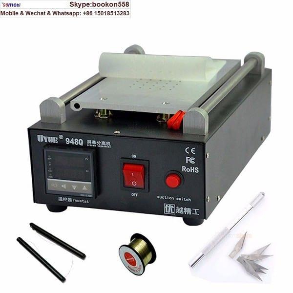 948q LCD Separator Build-in vacuum Pump Touch Screen Separating Machine