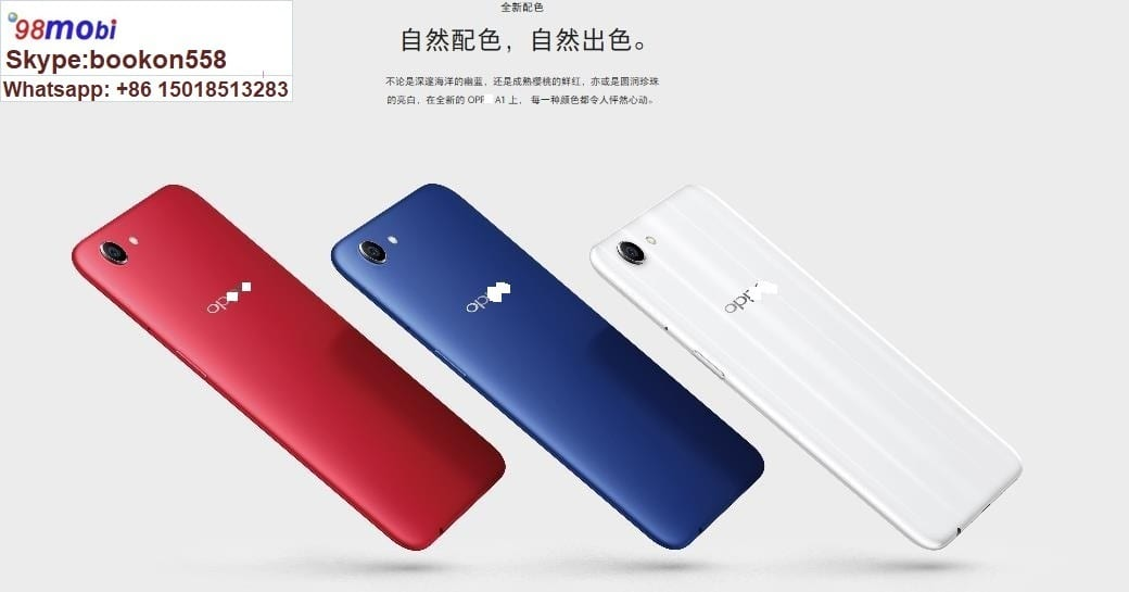 """Smartphone OPP0 A1 5.7"""" 4G Face ID Smart Phone Moviles"""