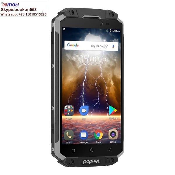 """Poptel P9000 Max 5.5"""" FHD IP68 Waterproof Smart Phone 9000mAh"""