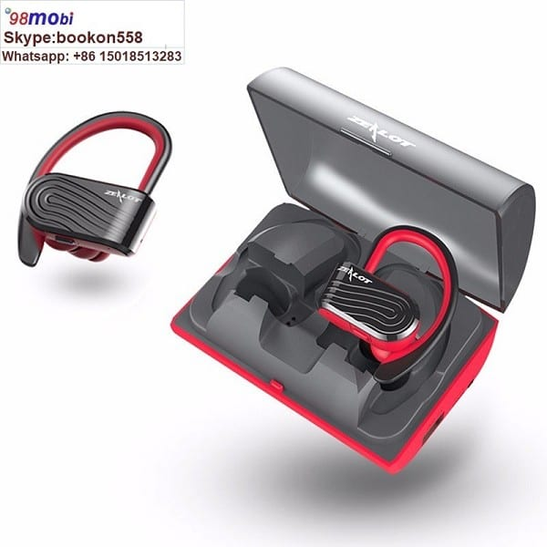 Earphones Earbuds with 2000mAh Charging Box Power Bank Sports Headset