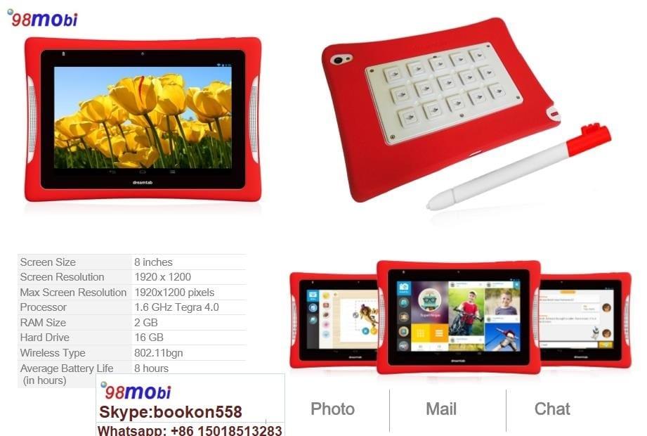 """Kids Tablet PC 8"""" 2GB RAM/16GB ROM Children Pad Ebook"""