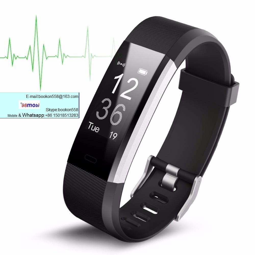 ID115 Plus Heart Rate Smart Wristband Bracelet for Smart Phone