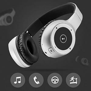T8 wireless headphone with mic