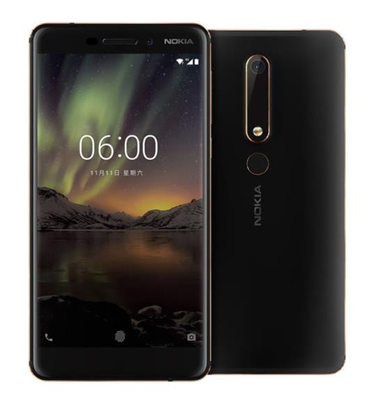 Nokia 6 Second generation 2nd TA-1054 Mobile phone