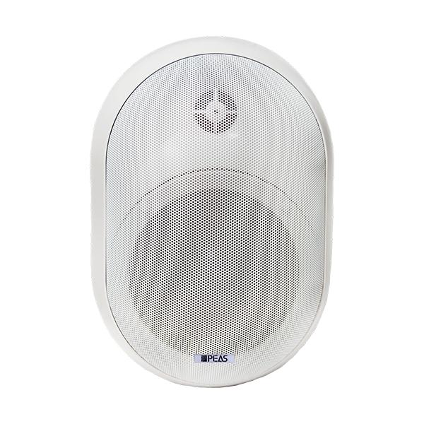 WS840 40W/8ohm Wall-mount round speaker with power tap