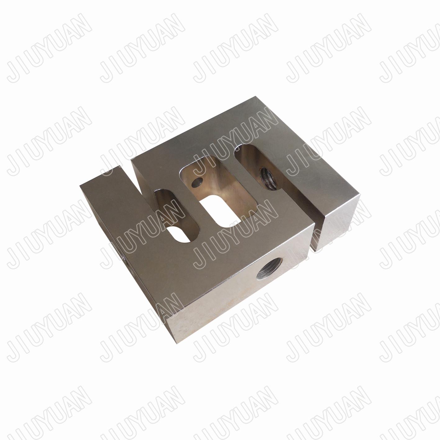 Steel CNC precision machining part for sensor