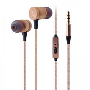 Wooden Earphone