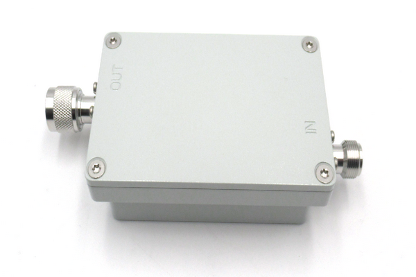 Waterproof IP65 Bandpass Cavity Filter Operating From 863-870MHz JX-CF1-860M870M-40NWP