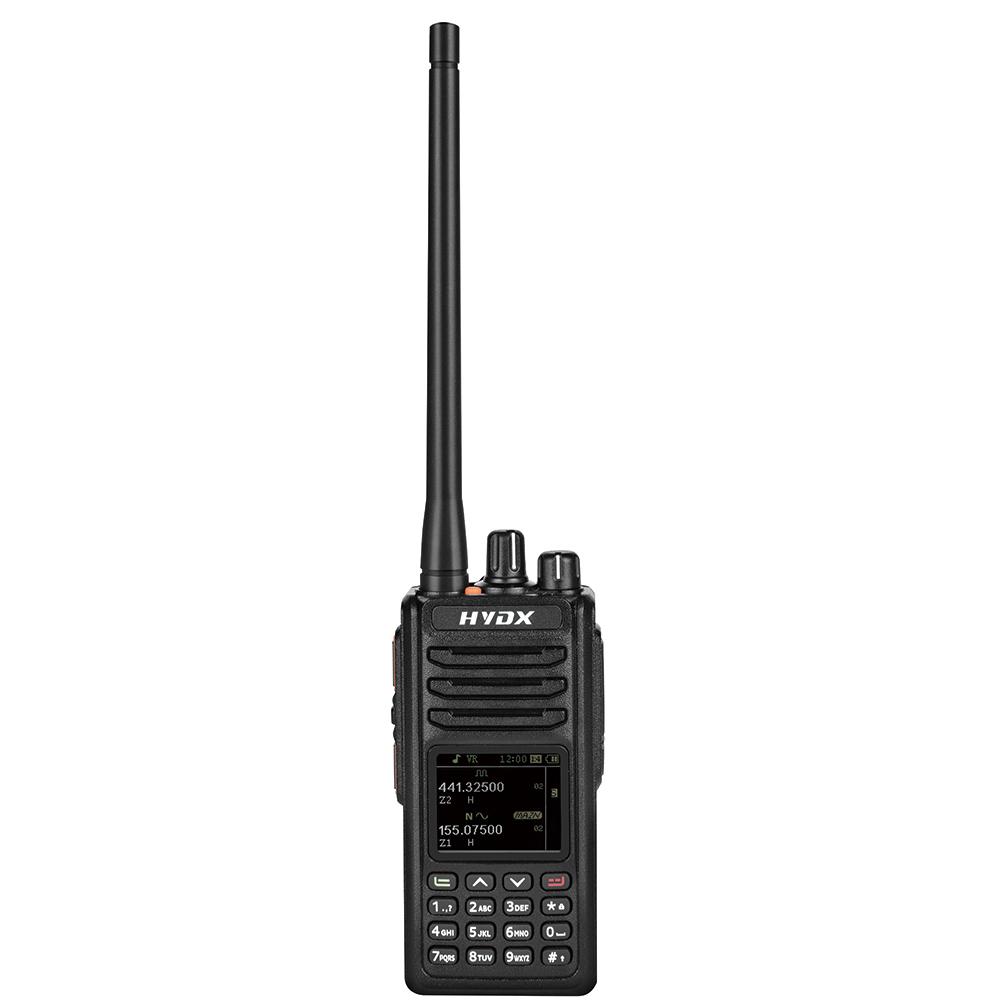 Dual Band DMR UHF VHF With GPS/Bluetooth optional HYDX-D2000