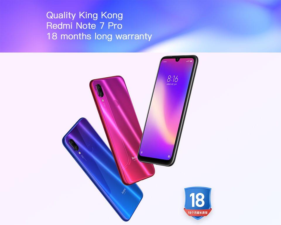 XIAOMI NOTE 7 PRO SMART PHONE