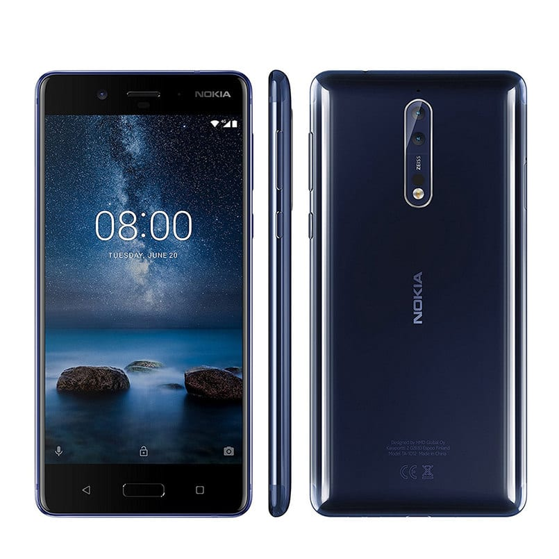 NOKIA 8 mobile phone Featured Image