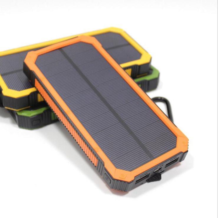LH01-20000 mah hiking solar power bank for mobile phones