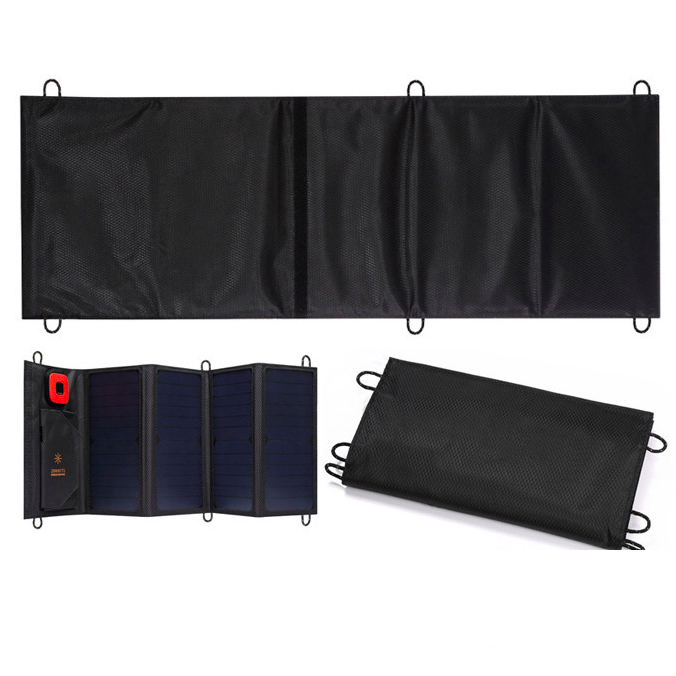 SE54- 28w lcd digital folable solar panel  charger for